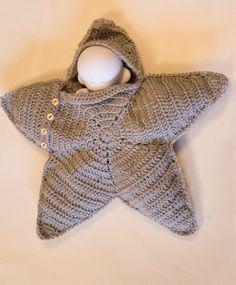 (Mønster længere nede) Dette mønster er fra http://www.crochetville.com/community/topic/112059-twinkle-twinkle18baby/ og er over...