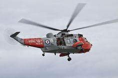 Royal Navy Westland Sea King SAR at The Northern Ireland International Air Show 2011 at Portrush.
