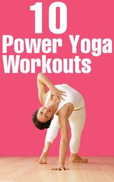 Top 10 Power Yoga Workouts