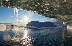 The sun is rapidly melting Jakobshavn Glacier in #Greenland, one of the beautiful, accessible #glaciers we recommend seeing before they're gone. (Image credit: © Paul Souders/Corbis) #climatechange #globalwarming
