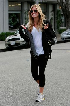 Kristin Cavallari and cute workout clothes!