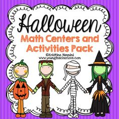 Halloween Math Centers and Activities Pack! The holidays can be a super busy time, and it's important to keep students engaged with high interest activities to cover some important math concepts and the Common Core Math Standards! 5th Grade Classroom, Middle School Classroom, Classroom Crafts, Halloween Math, Halloween Activities, Greatest Common Factors, Early Finishers Activities, Common Core Math Standards, Math Concepts