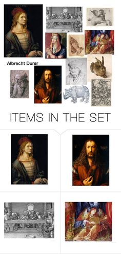 """""""Durer Artwork and Prints"""" by scolab ❤ liked on Polyvore featuring art"""