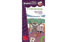 V. LÜK-bajnokság - Versenyfeladatok magyar nyelvtanból 4. osztály - miniLük füzet