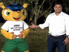 La mascota de Brasil 2014