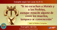 MISIONEROS DE LA PALABRA DIVINA: EVANGELIO - SAN LUCAS 16,19-31
