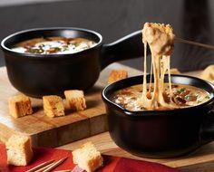 French Onion Soup Fondue