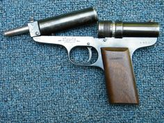 Hubertus .22 cal Rifled Pre-War rare air pistol Item: 11255899 | Mobile GunAuction.com