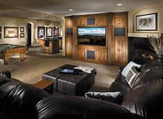 arched niches  Lounge-Worthy Basements : Interior Remodeling : HGTV Remodels