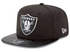 on sale 790f9 59890 Oakland Raiders New Era 2017 NFL Draft 9FIFTY Snapback Cap