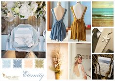 Perfect for a beach inspired wedding wedding!