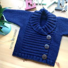 Crochet For Boys, Boys Sweaters, Crochet For Beginners, Baby Knitting Patterns, Baby Boy, Baby Shower, Couture, Cotton, Handmade