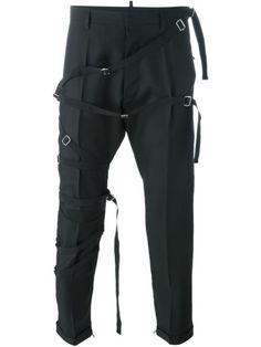 Straight Jacket Buckle Bondage Trousers | Tim Burton Halloween ...