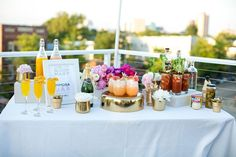 mimosa & bloody mary bar | top 10 reasons to have a brunch wedding