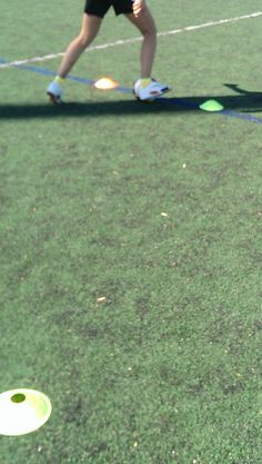 Technical training #youthsoccer with 7-Touch Trainers. Speed to beat an opponent #soccer