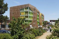 Conjunto habitacional na França.