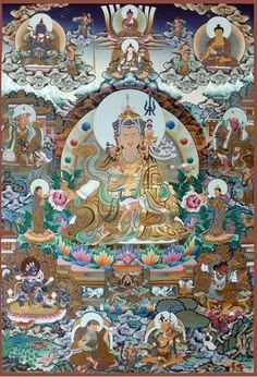 Guru Rinpoche 8 megjelenése