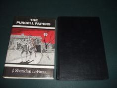 The Purcell Papers by J. S.  LeFanu  1975 Arkham House First in Dust Jacket