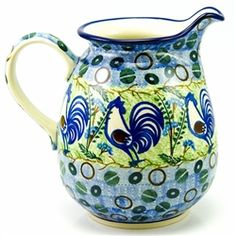 I love chooks and polish pottery.....I mean why wouldn't you!!!!!!!!!