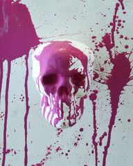 Fun with Skulls III. Did you know you can order 8x10 prints from artistspot.org for only $25? Support the artists!
