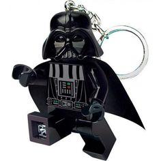 Star-Wars-Lego-LED-kulcstartó-Darth-Vader (1) Mega Blocks, Lego Star Wars, Darth Vader, Led, Stars, Character, Illustrations, Sterne, Lettering