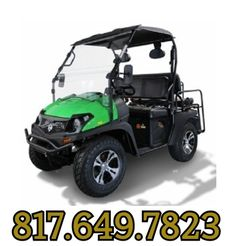 Fully Loaded Cazador OUTFITTER 200 Golf Cart 4 Seater Street Legal
