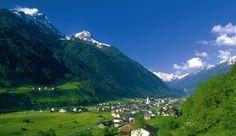 Neustift Austria. Skied the Stubaital glacier.