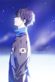 on ice Lee Seung Gil - Anime Thing Yuri On Ice, Anime Friendship, Yuuri Katsuki, Ice Art, ユーリ!!! On Ice, Cute Anime Pics, Another Anime, Manga Boy, Ship Art