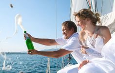 Make it a 30th birthday to remember with a boat party.