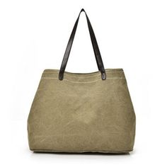 Canvas Casual Large Capacity Handbag Shoulder Bag For Women Canvas Tote Bags is designer, see other popular bags on NewChic. Tan Handbags, Canvas Handbags, Hobo Handbags, Handbags On Sale, Shoulder Handbags, Canvas Tote Bags, Shoulder Bags, Casual Bags, Women's Casual