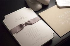A Modern Sugar Paper Baby Shower | Design: Sugar Paper | Calligraphy: Lisa Holtzman