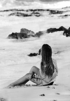 * beach