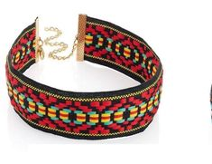 Choker Collar -Red mix Retro Hippy Festival 60 s revival Statement Fashion❤ 70s Hippie, Hippie Festival, Cool Things To Buy, Stuff To Buy, Collar Necklace, Hippy, Gold Chains, Fashion Accessories, Chokers