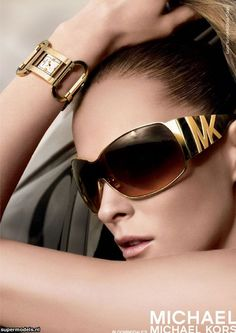 Michael Kors Shades..these are intense!  Think I need to hunt these down. New shades for vacation!