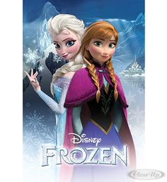 Frozen Poster - Anna and Elsa.  Available on http://www.closeup.de