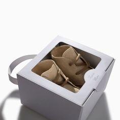 ZARA - MINI - Leather desert boot