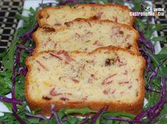 Receta de Pastel de jamón y queso al romero