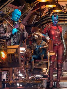 Yondu, Rocket Racoon & Nebula from Marvel's Guardians of the Galaxy Vol. 2