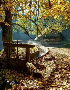 Kvačiansky mlyn Oblazy... krásna jesenná Kvačianska dolina a skvelý tip od Dana Dubcova Nemcokova  Čaká na vás príjemná prechádzka v malebnom horskom prostredí ktorá sa každému vryje do pamäte. Uvidíte veľmi pôsobivý skalný útvar Jánošíkova hlava rokliny výhliadky na dolinu a na konci malebné Mlyny Oblazy ktoré si iste nenechajte ujsť.  Trasa je vhodná pre všetky typy turistov rovnako pre deti či dôchodcov nakoľko nejde o náročnú trasu. Veríme že ak raz toto miesto navštívite vrátite sa…