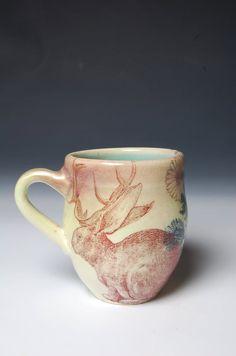 jackalope mug <3