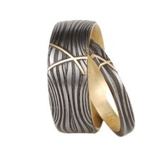 victoria moore, damascus steel, rings