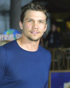 Marc Blucas! Riley on Buffy, James in First Daughter and Matt on Necessary Roughness.
