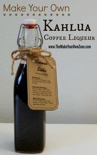 How to make homemade Kahlua coffee liqueur