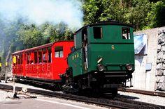 Rothornbahn/Brienz mit Dampflok