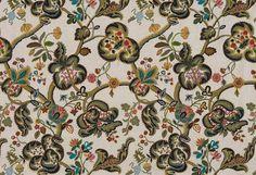 """B7595001 From La Maison Pierre Frey LES COLONIES FABRIC 125 cm/49"""" 75 cm/29.5 56% Lin"""