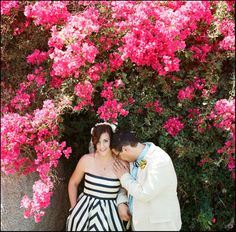 Photography by radandinlove.com     Read more - http://www.stylemepretty.com/2013/07/19/modern-palm-springs-wedding-from-rad-in-love/