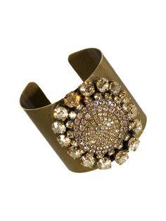 Hypnotic Cuff Bracelet in Raw Sugar by Sorrelli - $160.00 (http://www.sorrelli.com/products/BCK1AGRSU)