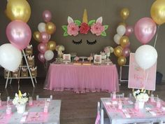 Unicorn Birthday Party Ideas | Photo 15 of 36