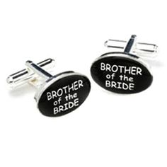 brother of the bride men's silver cufflinks on eBay!