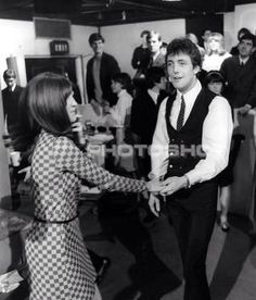 Mike dancing with Cathy McGowan